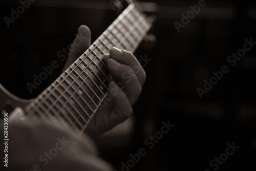 Fotografía エレキギターの演奏