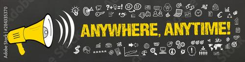 Anywhere, Anytime! Wallpaper Mural