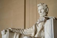 Close Up Of Abraham Lincoln At...