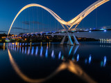 The Infinity Bridge, Stockton on Tees. England.