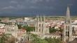 Cathedral in the city of Burgos, Castilla-Leon, Spain