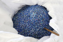 Flakes From Recycled Plastic B...