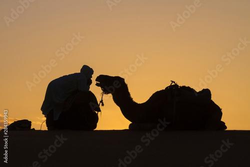 Obraz na plátne Morocco, Sahara Desert