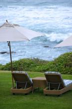 Africa, South Africa, KwaZulu Natal, Durban, Umhlanga Rocks, Beverly Hills Hotel Lawn