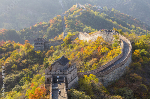 Papiers peints Muraille de Chine The Great Wall at Mutianyu near Beijing in Hebei Province, China