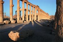 Syria, Palmyra, Colonnaded Str...