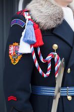 Czech Republic, Prague. Royal Guard At Prague Castle.