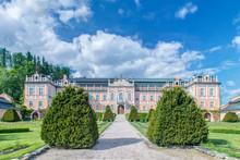Czech Republic, Bohemia, Nove Hrady Chateau.