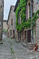 Panel Szklany Uliczki France, Cordes-sur-Ciel. Back street