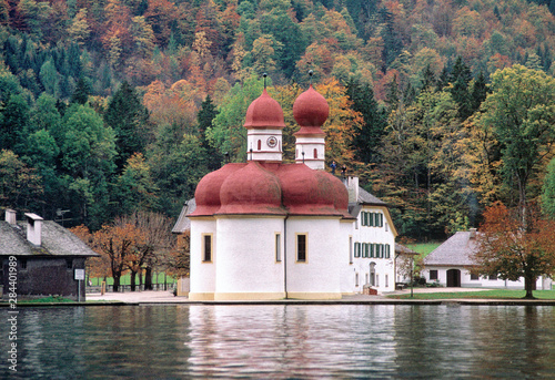 Germany, Bavaria, Konigsee Wallpaper Mural
