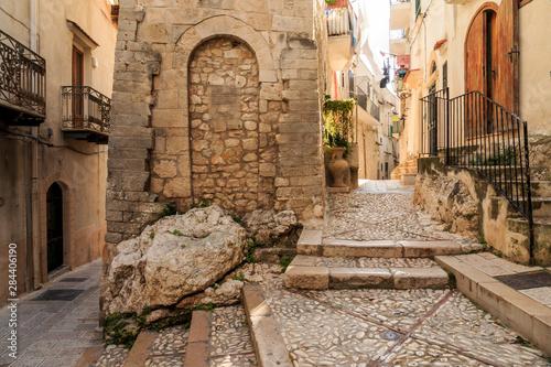 Fotografie, Tablou  Italy, Foggia, Apulia, Gargano National Park, Vieste