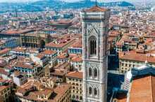 Campanile Of Giotto And City V...