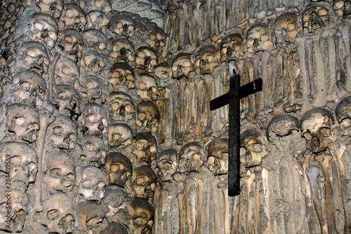 Fotografia Portugal, Evora, Capela dos Ossos, (Chapel of Bones).