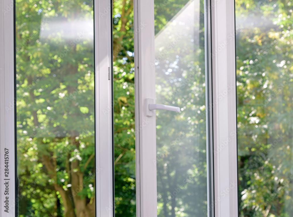 Fototapety, obrazy: plastic vinyl window