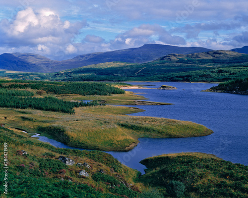 Valokuva Scotland, Highland, Wester Ross, Loch Garry