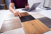 Male Interior Designer Choosin...