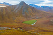 USA, Alaska, Brooks Range, Arctic National Wildlife Refuge. Aerial of mountains and river. Credit as: Don Paulson / Jaynes Gallery / DanitaDelimont.com