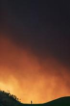 California Wildfire, Val Verde Fire, Ventura County, Southern California, USA