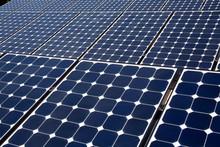 Solar Array On Roof Of Firestone Store, Installation By Martifer Solar USA, North Hollywood, Los Angeles, California, USA.