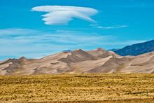 USA, Colorado, Alamosa, Great Sand Dunes National Park And Preserve