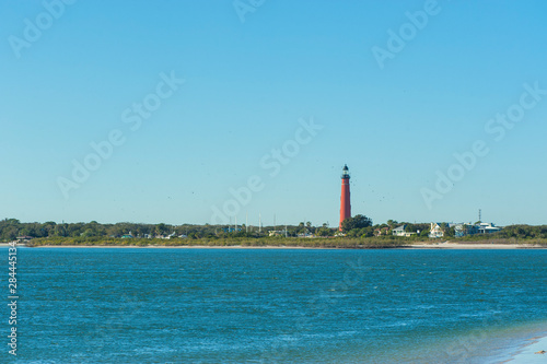Photo USA, Florida, Ponce Inlet, Ponce de Leon Inlet Lighthouse, Indian River Lagoon