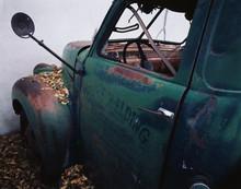 USA, Rusty Truck