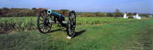 USA, Maryland, Antietam. An Old Cannon Is A Reminder Of The Fierce Battle That Took Place Near Antietam National Battlefield, Maryland.