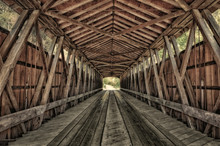 Interior Of Covered Bridge, In...