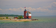 A View Of Round Island Light S...