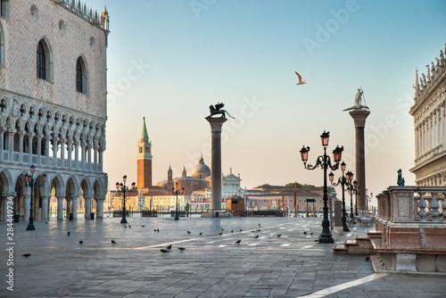 Fototapeta St Mark's Square At Venice, Italy obraz