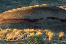 Painted Hills, John Day Fossil Beds National Monument, Mitchell, Oregon, USA
