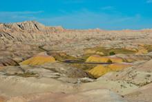 USA, South Dakota, Wall, Badlands National Park, Loop Road, Conata Basin Overlook