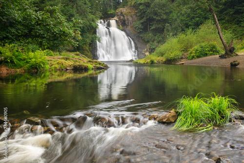 Photo Youngs Falls near Astoria, Oregon