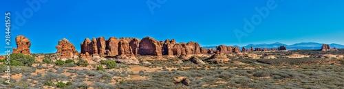 Fotografia USA, Utah, Moab. Arches National Park, Garden of Eden