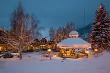 WA, Leavenworth, Bavarian Styl...