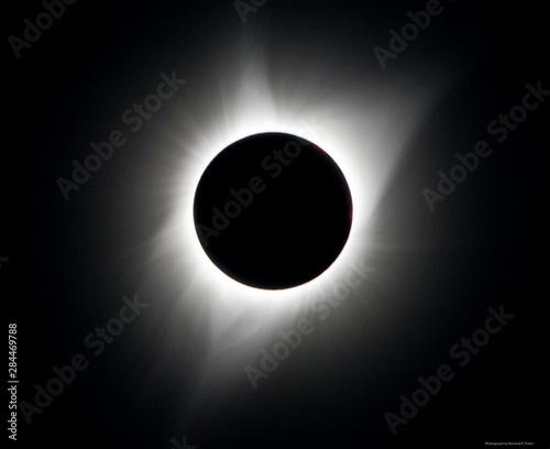 USA, Wyoming, Glendo, Solar Eclipse Corona