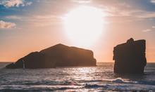 View From Ponta Do Castelo, Rocky Coastline At The West Coast Of Sao Miguel Island, Azores, Portugal
