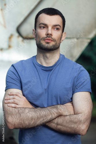 Photo  True masculinity concept