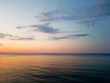 po zachodzie słońca nad morzem