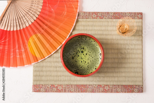 Photo 日本のお茶 green tea made in Japan