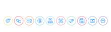 Seo Concept 10 Outline Colorfu...