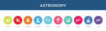 Astronomy Concept 10 Colorful ...