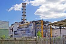 Chernobyl Nuclear Power Plant On The River Pripyat' In Chornobyl (Chernobyl), Ukraine