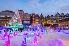 Winter Light Up In Sapporo