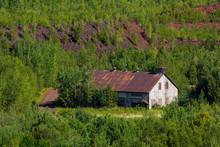 Old Abandoned Mine Building