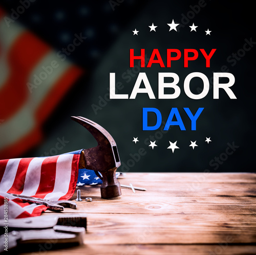 Happy Labor day concept and background Canvas-taulu