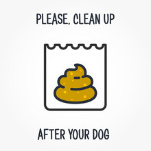 Please Clean Up After Your Dog...