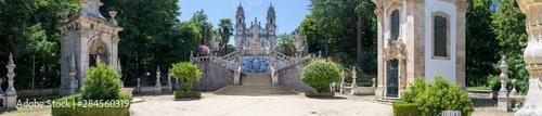 Fotografie, Obraz  Sanctuaire Nossa Senhora dos Remédios à Lamego, Portugal