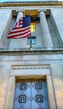 Door Flag Robert Kennedy Justice Department Building Washington DC