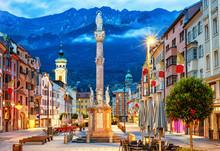 Innsbruck Old Town, Tyrol, Austria